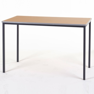 Essentials Rectangular Classroom Table + Cast PU Edge