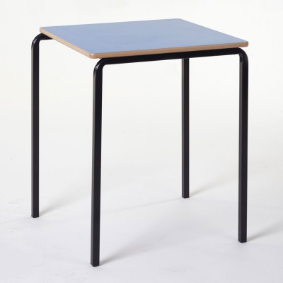 Essentials Slide-Stack Square Classroom Table