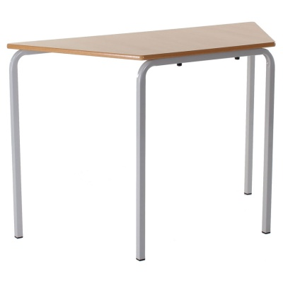 Essentials Slide-Stack Trapezoidal Classroom Table