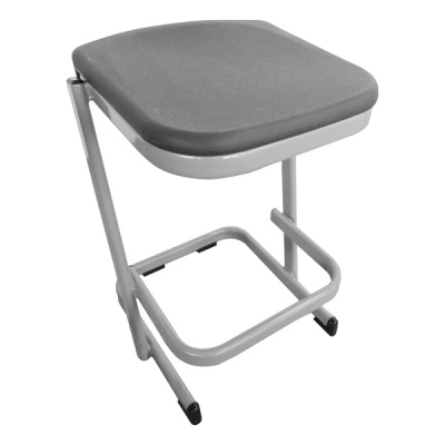 Form™ Cantilever Poly-Top Lab & Craft Stool