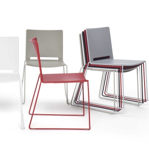 laFilò School Hall Stacking Chair