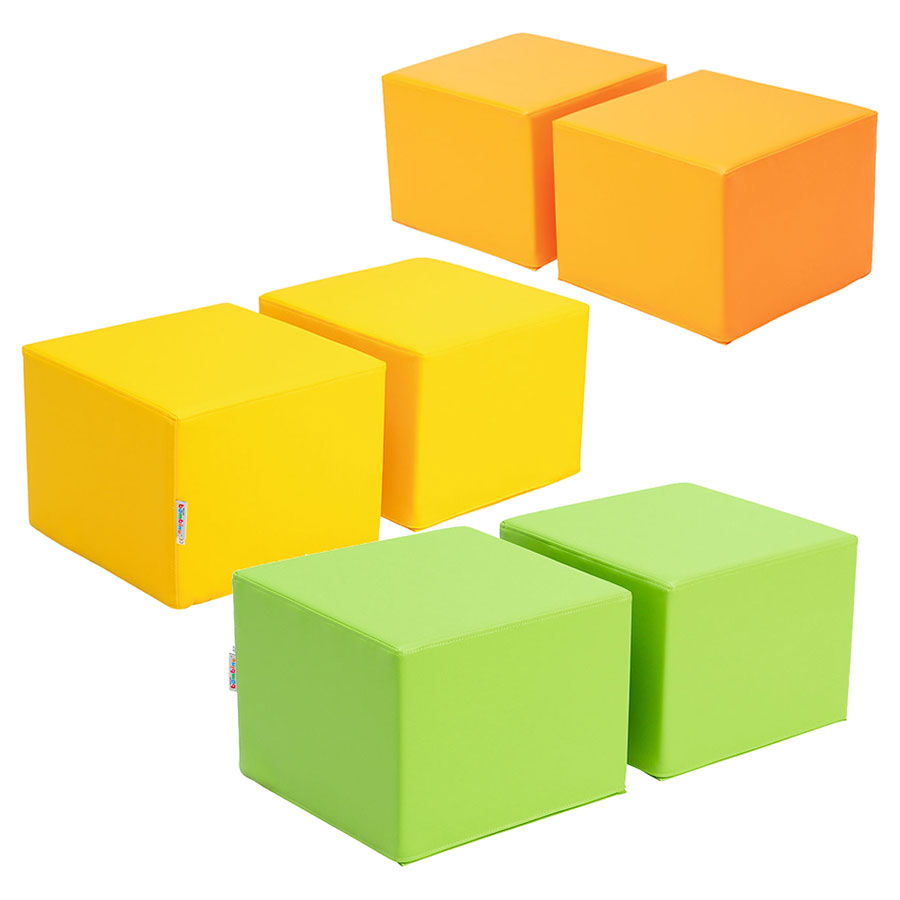 Children's Cube Soft Seats (Pack of 2)