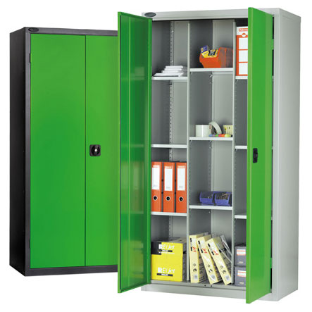 Probe 12 Compartment Metal Cupboard