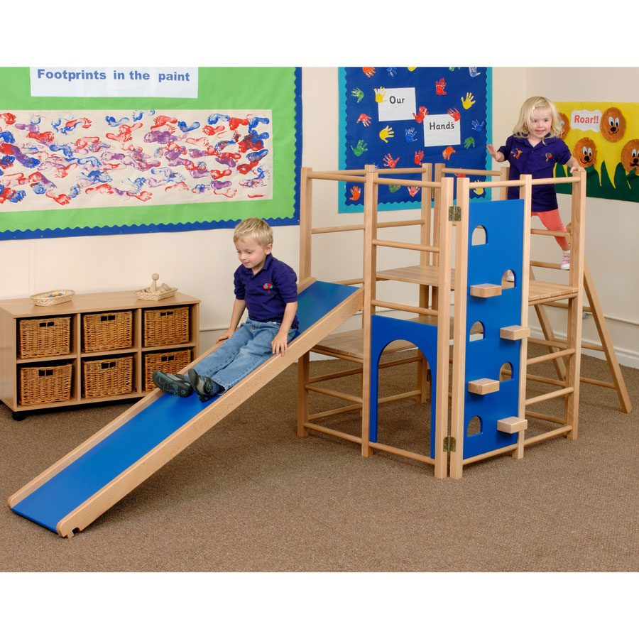 Blue Climbing Frame Set (5 - 8 Years)