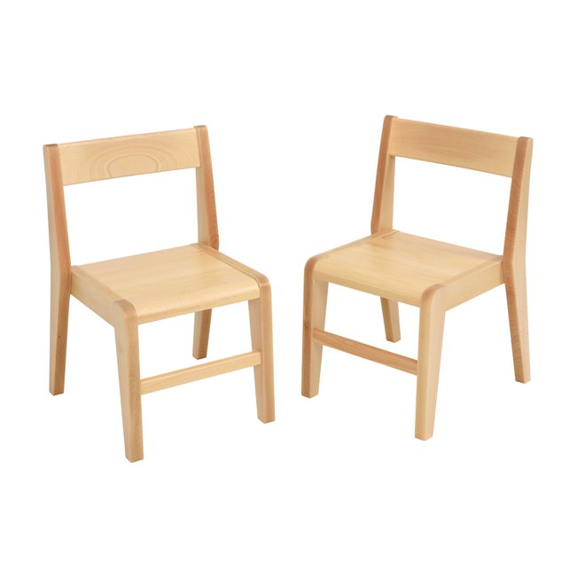 Devon Junior Wooden Chairs 380mm (Pack of 2)