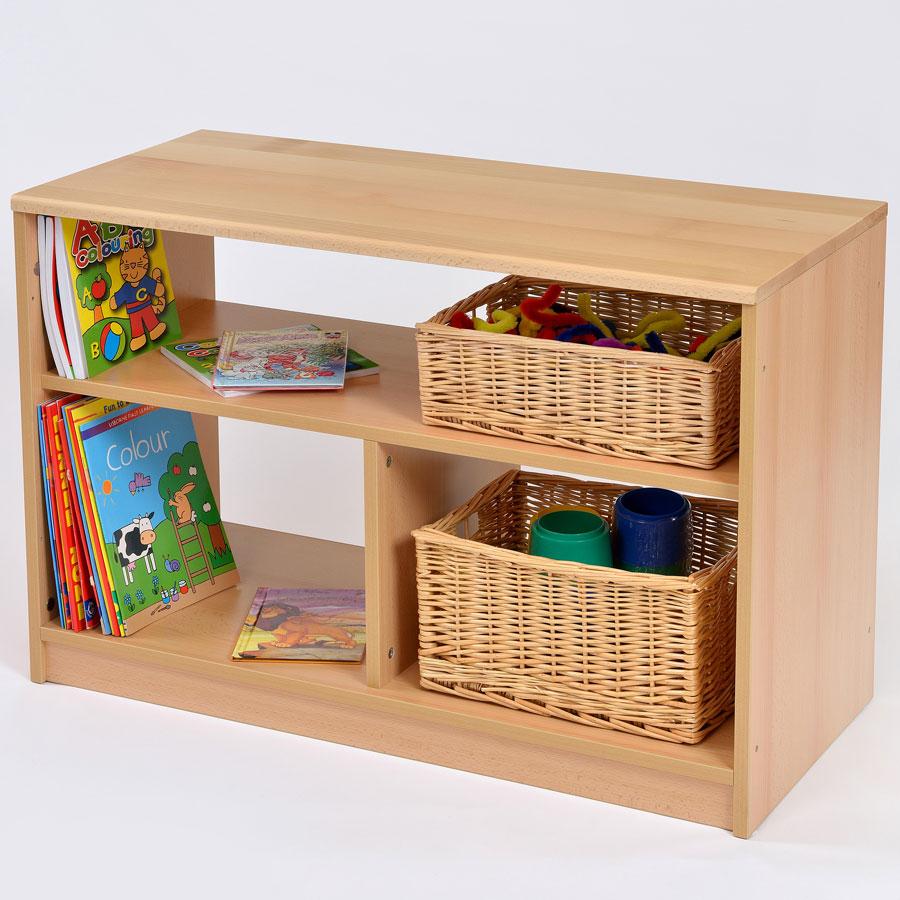 Room Scene Open Bookcase Shelf Unit