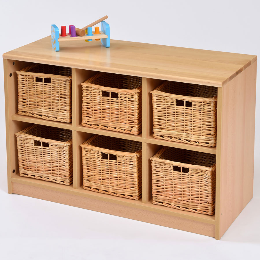 6 Basket Storage Unit Freshtechs