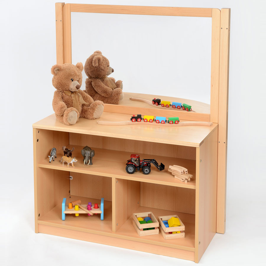 Room Scene - Children's Bookcase + Room Divider