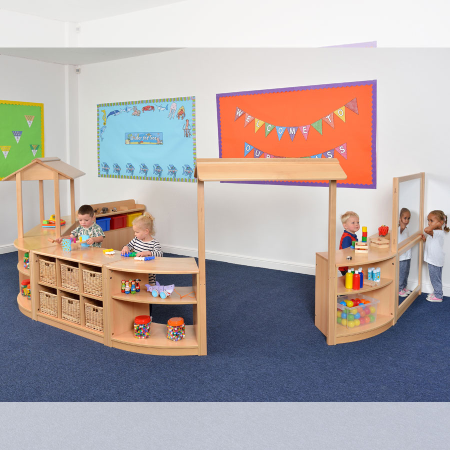 Room Scene 14 - Children's Play Space With Storage