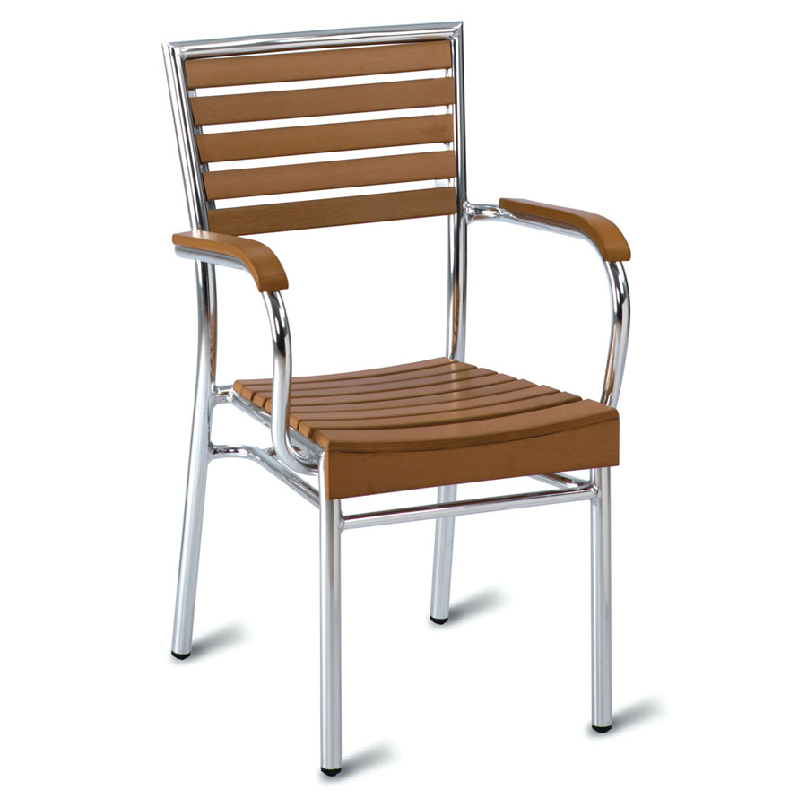 Monaco No Wood! Outdoor Cafe Armchair