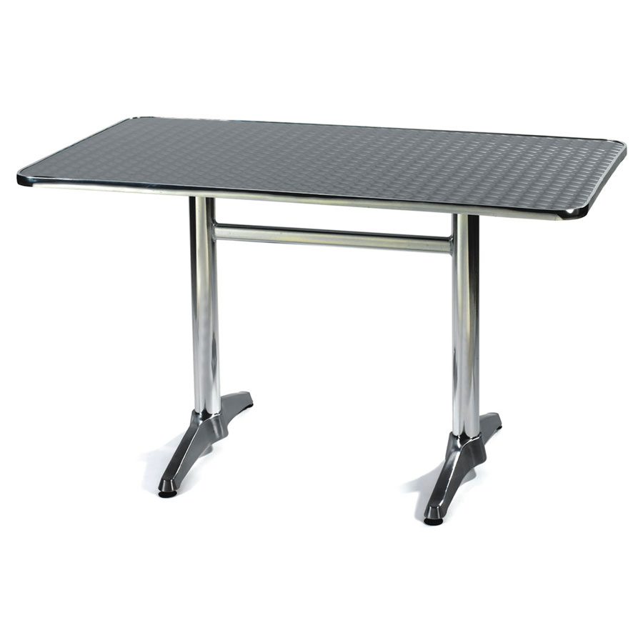 Aluminium Indoor / Outdoor Refectory Table