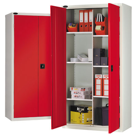 Probe 8 Compartment Metal Cupboard