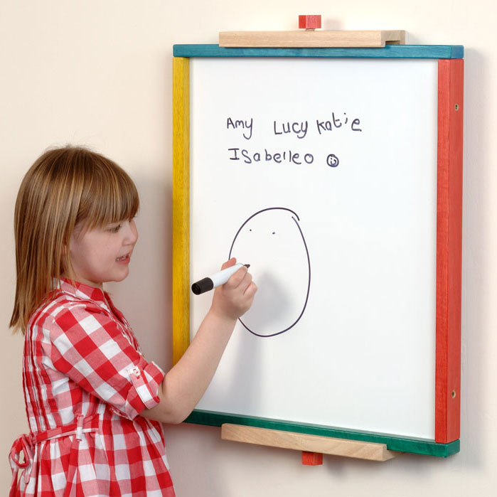 Wave Children's Fun Mirror Whiteboard Panel