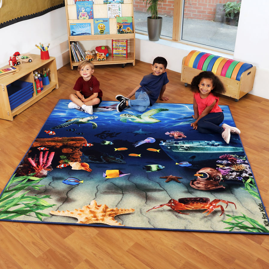 Under the Sea™ Double Sided Carpet