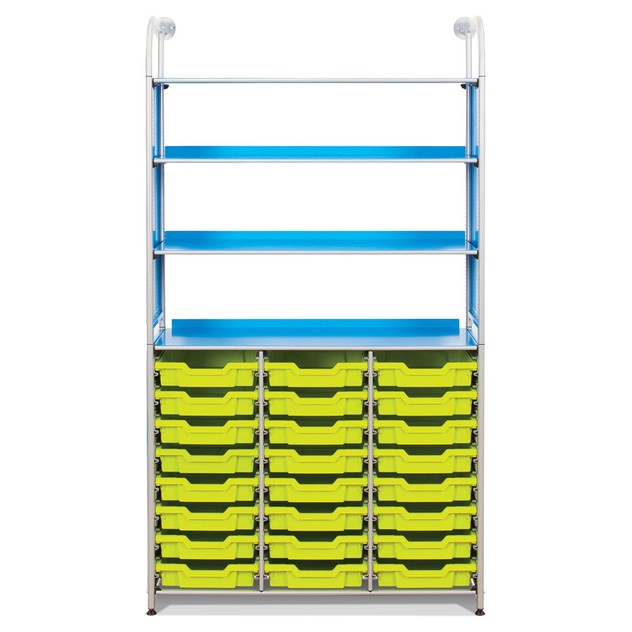 Callero Resources Store + 24 Shallow Trays