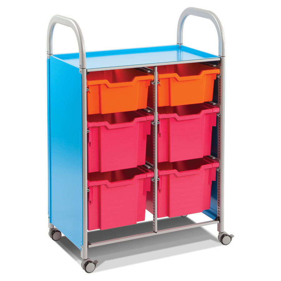 Callero Double Trolley + Multi-Tray