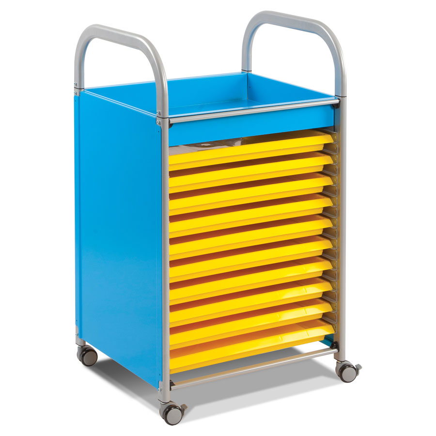 Callero Art Trolley + 10 Art Trays