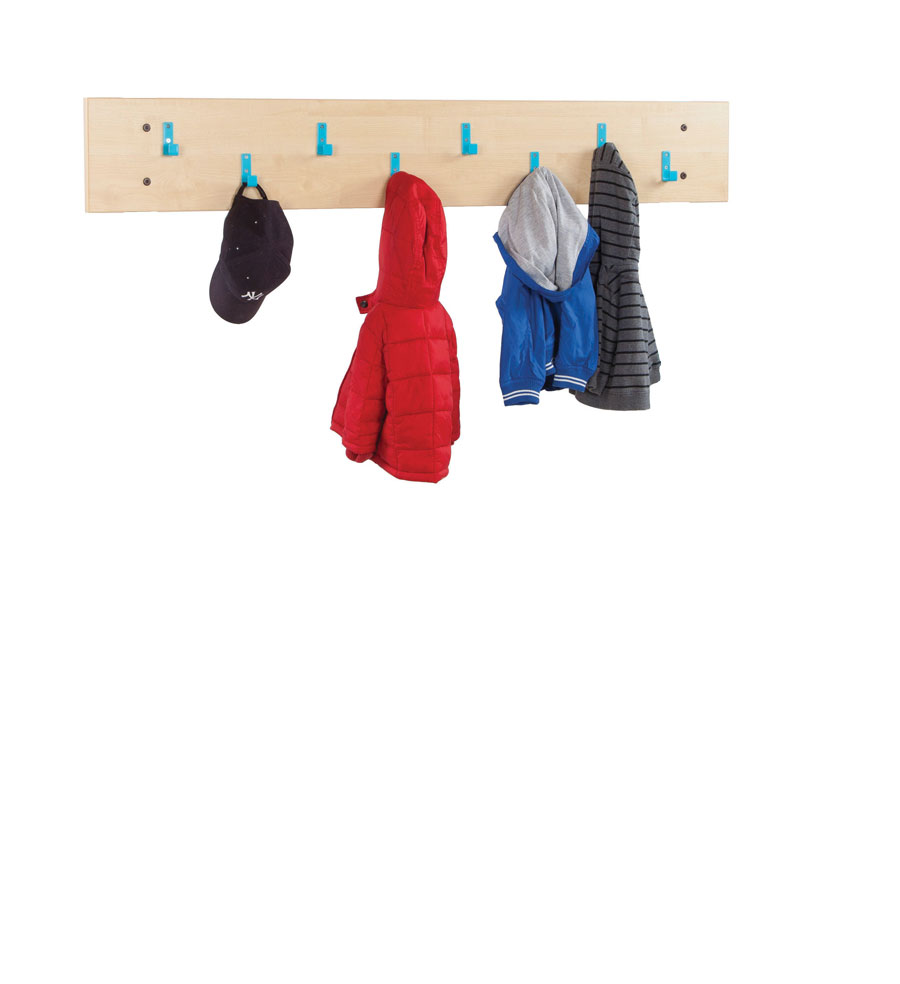 CLK007 Bubblegum Cloakroom Top With 8 Hooks