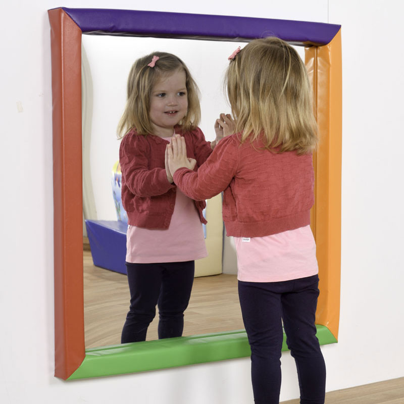 Children's Large Soft Frame Fun Mirror
