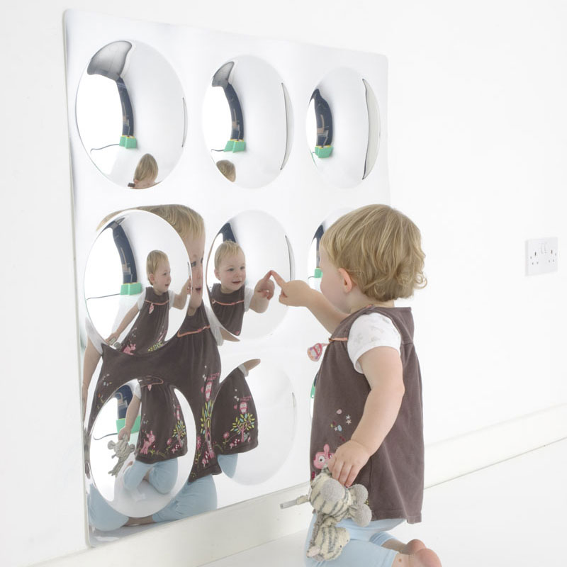 Children's 9 Giant Bubbles Fun Mirror
