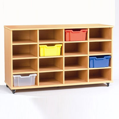 Yorkshire School Storage - 16 Deep Tray