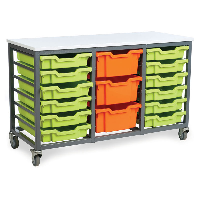 EF8801C 18 Shallow Tray Mobile Store
