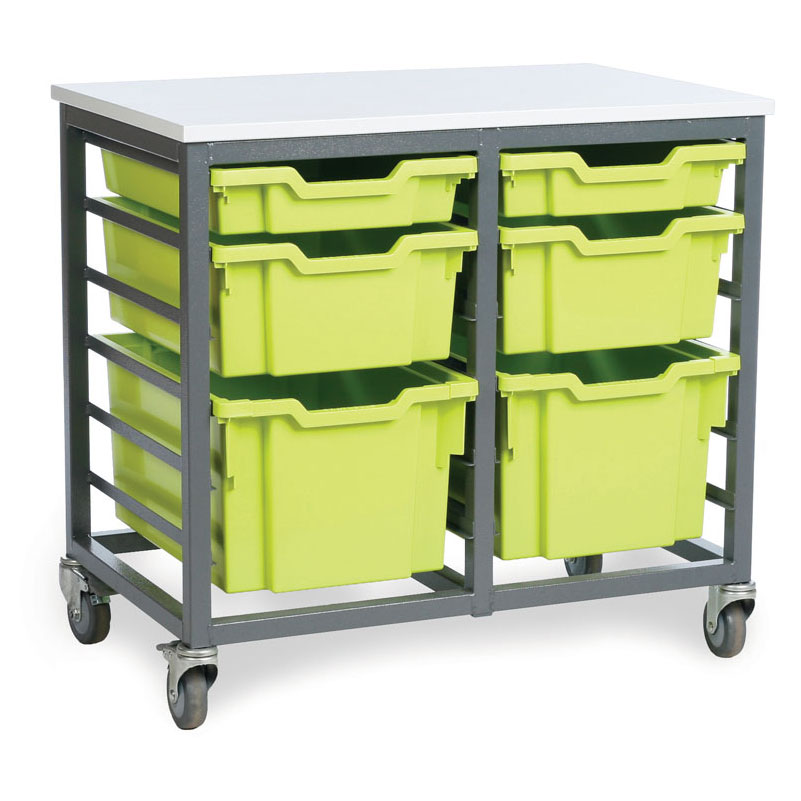 EF8802C 12 Shallow Tray Mobile Store