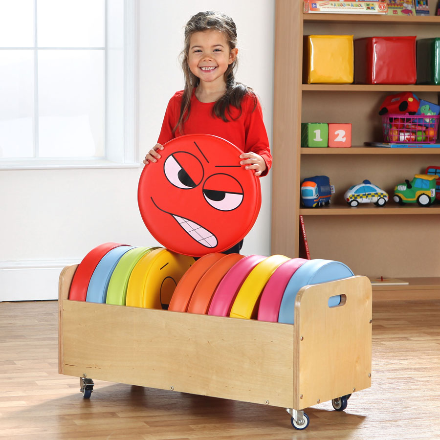 English Emotions™ Cushions set of 12 with Tuf2™ Trolley