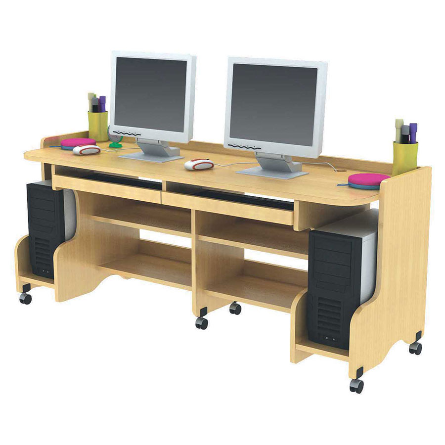 Children's Double Computer Desk