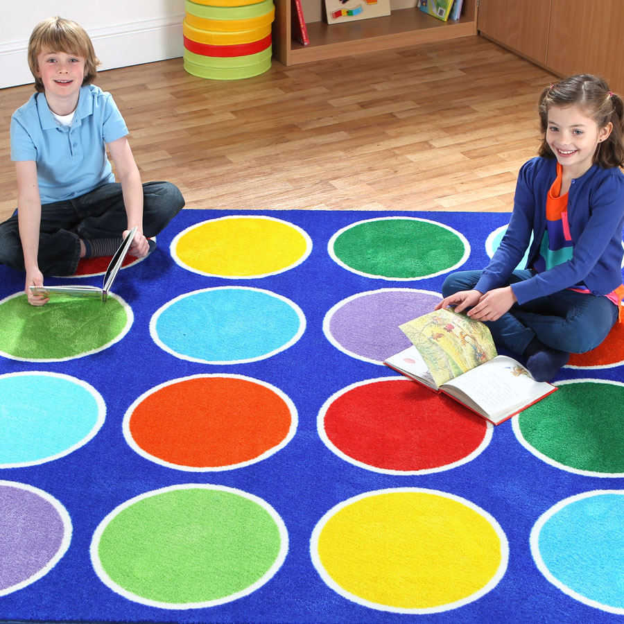 Rainbow™ Circle Placement Carpet