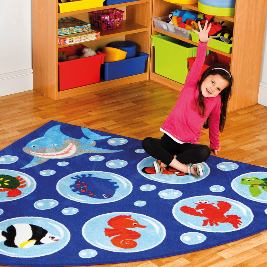 Under the Sea™ Corner Placement Carpet