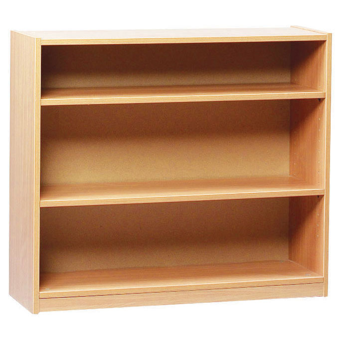 Open Bookcase with 2 Shelves (750H)