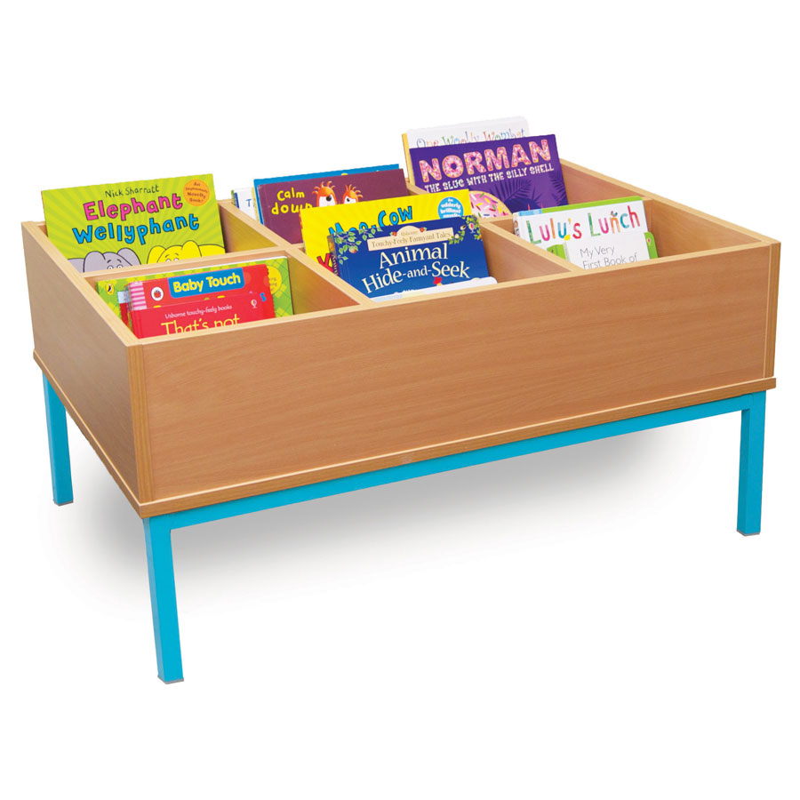 6 Bay Static Kinderbox Unit