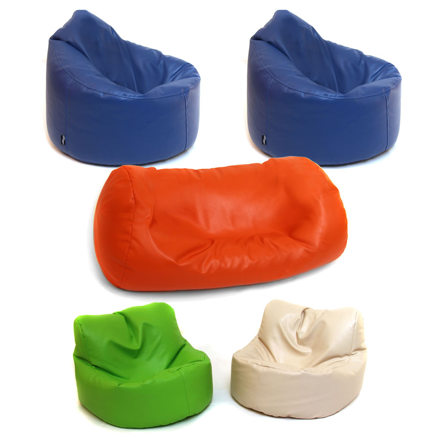 Pre-School & Primary Library Reading Bean Bag Set