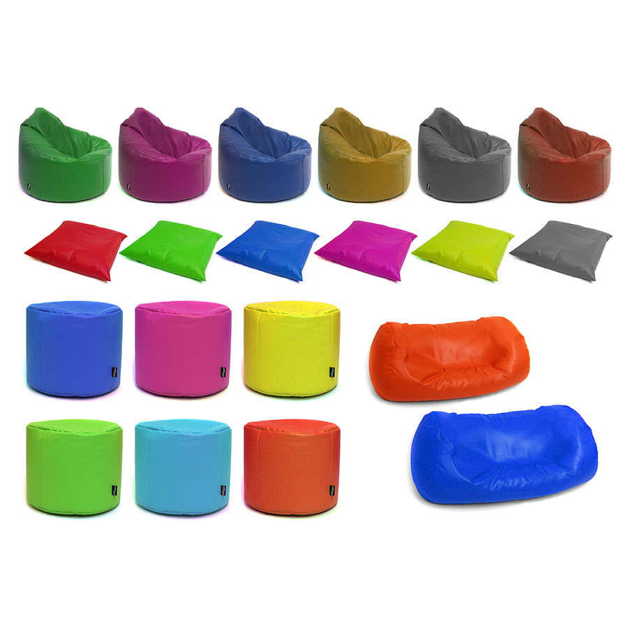 Pre-School & Primary ''Mega'' Classroom Bean Bag Set