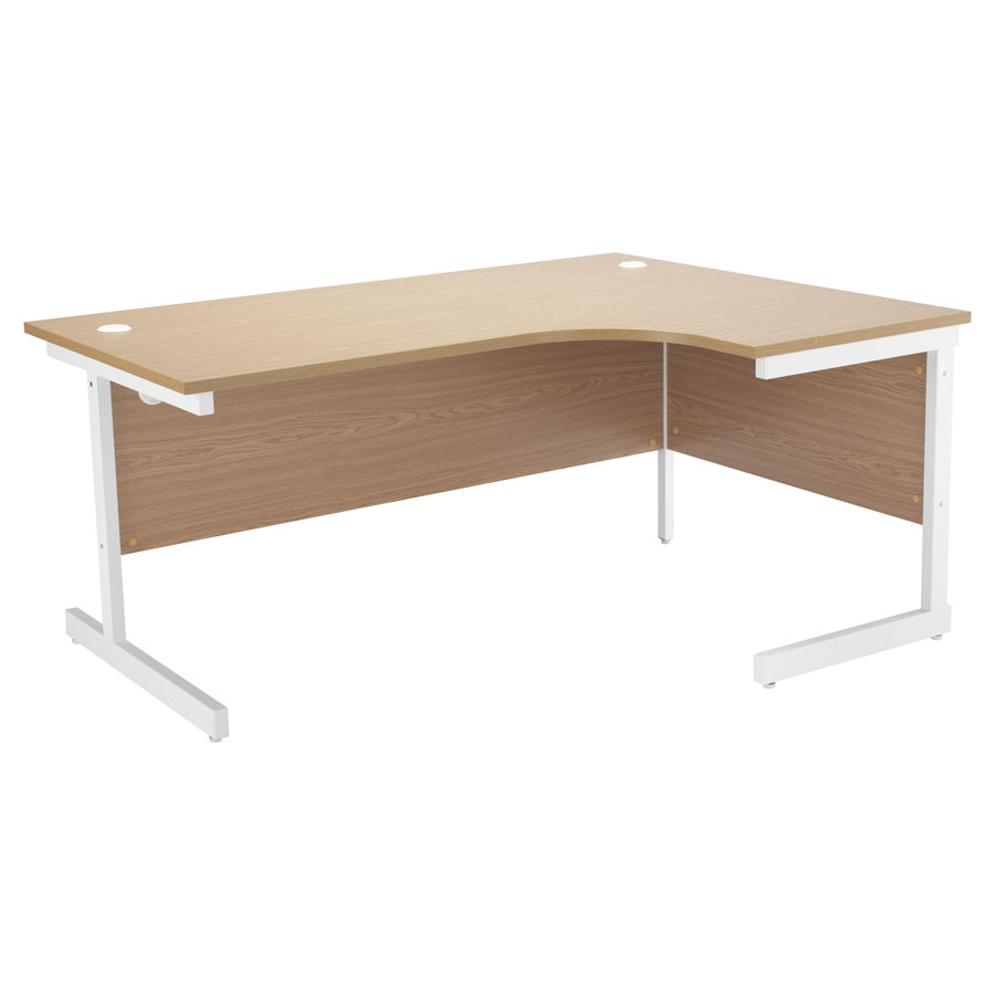 ONE Crescent Cantilever Workstation Right