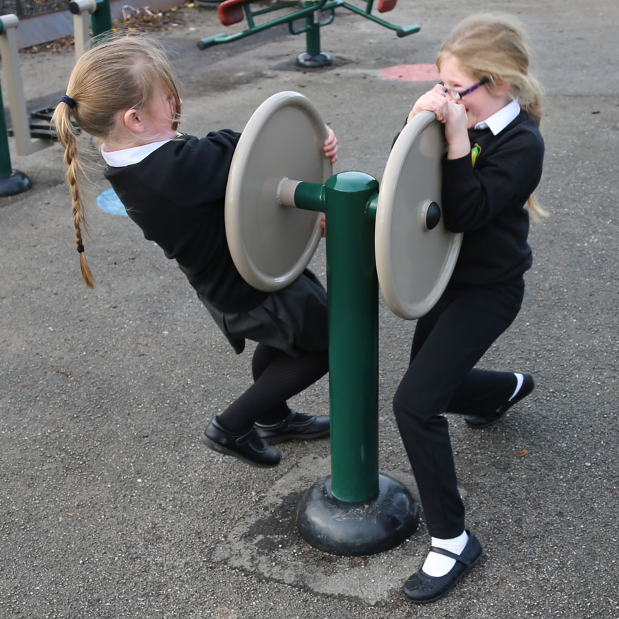 Outdoor Children's Gym Double-Strength Challenger