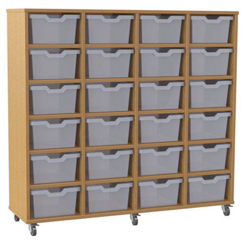 24 Tray 4 Column Piccolo Tray Storage