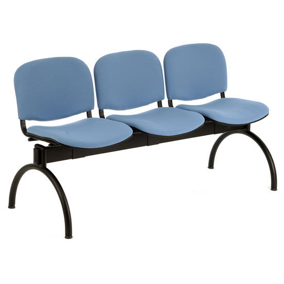 PS500 Beam Seating - 3 Seater Arch Leg