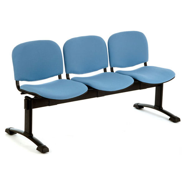 PS500 Beam Seating - 3 Seater Flat Leg