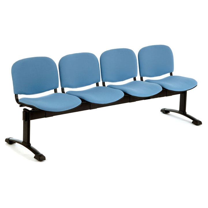 PS500 Beam Seating - 4 Seater Flat Leg