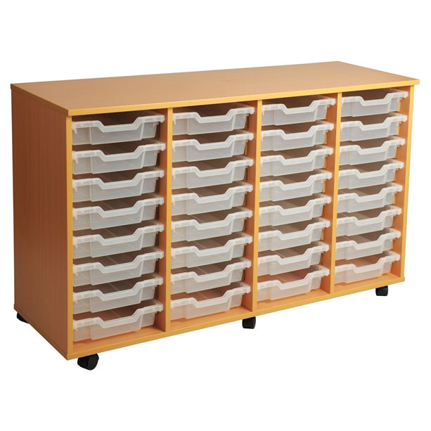 PSU8 32 Tray School Storage
