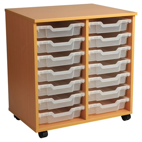 PSU7 14 Tray School Storage
