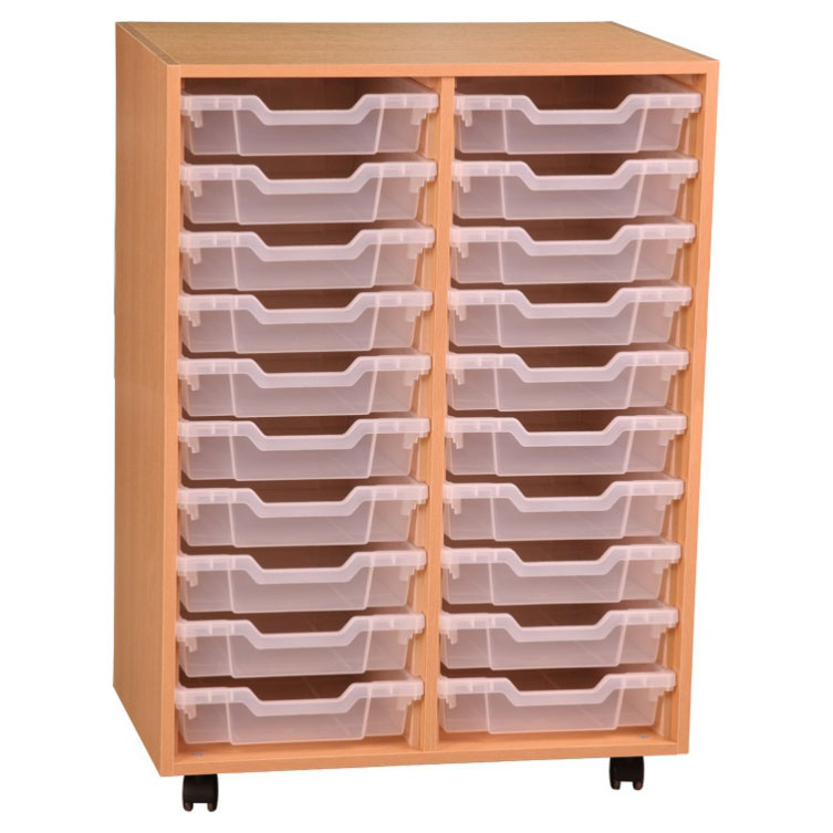PSU10 20 Tray School Storage
