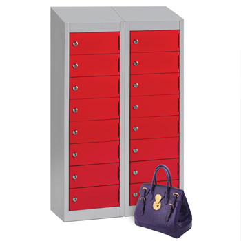 Probe 8 Door Wallet Locker + Sloping Top