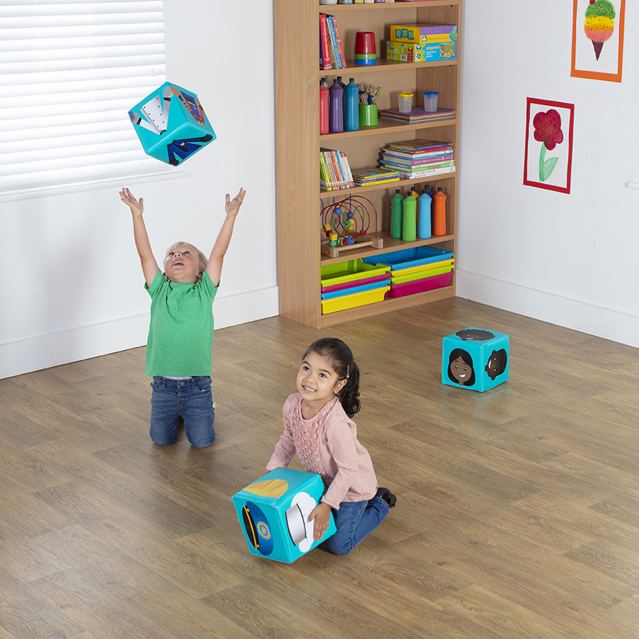 Nursery Play Professions Cubes - Pack of 4