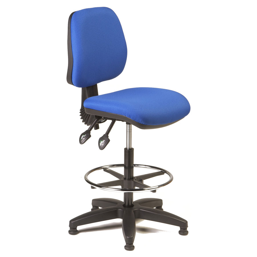 Sara Mid-Back Twin Lever Draughting Chair