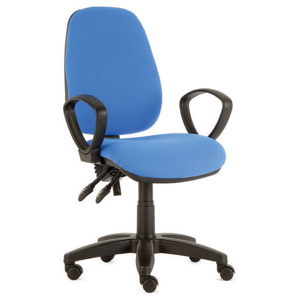 Sara High Back Twin Lever Operator Chair Without Arms