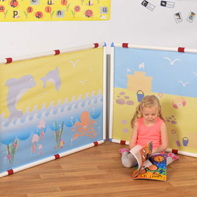 ''Under the Sea'' Classroom Divider