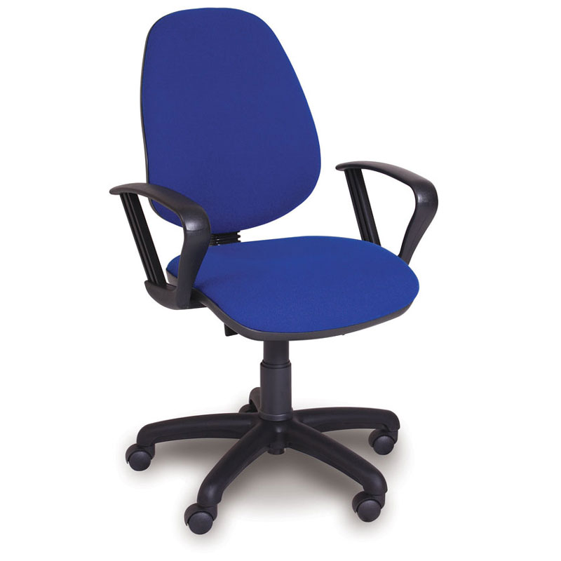 Advanced High-Back Office Chair + Fixed Armrests